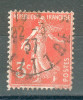 Collection FRANCE ; 1932-37 ; Y&T N° 278A ; Lot :  ; Oblitéré - 1906-38 Semeuse Camée