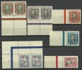 LITAUEN Lithuania 1928 Michel 281 - 286 * Schöne Ränder Nice Margins - Lithuania