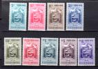 1953 Armoiries De L'Etat De Apure, A 510 / 518*, Cote 55 €, Cheval Horse Cavale Pferde  Cattle élevage - Venezuela