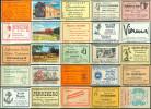 25 Alte Gasthausetiketten Aus Hamburg Und Umgebung, Deutschland Mit Postleitzahl 2000, #7 - Luciferdozen - Etiketten