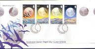 Ascension 2004 - Lunar Eclipse, Long FDC - Afrika