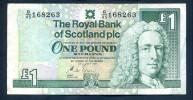 "1 Pound   ""SCOTLAND""  24 July 1991   SUP  Ro2. - [ 3] Scotland"