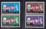 Cayman Islands MNH Scott #176-#179 Set Of 4 Sir Winston Churchill Issue - Iles Caïmans