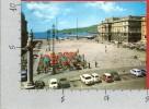 CARTOLINA VG ITALIA - TRIESTE - Piazza Unità D'Italia - 10 X 15 - ANNULLO 1968 - Trieste