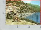 CARTOLINA VG ITALIA - POSITANO (SA) - Alcione Residence visto dalla Spiaggia - 10 X 15 - ANNULLO 1985