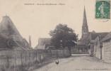37 CPA Panzoult - Route De L´Isle Bouchard - L´Eglise - Autres Communes