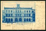 Estação Central ROSSIO - LISBOA. Postal Circulado 1900. Old Postcard PORTUGAL. - Lisboa