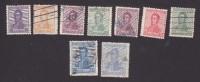 Argentina, Scott #231-239, Used, Jose De San Martin, Issued 1917 - Argentine