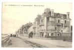 Cp, 44, La Baule, Le Boulevard Darlu, Manoir Des Fleurs, Voyagée - La Baule-Escoublac