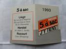 ANCIEN CALENDRIER DE POCHE  1993  / PUB  PRESSING 5 A SEC - Petit Format : 1991-00