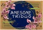 """04407 """"ANESONE TRIDUO - LIQUORE ALL´ANICE """" ETICHETTA ORIGINALE - Etichette"""