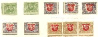 LITAUEN Lithuania 1919 Printing - & perforation ERROR * Lot 3