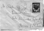 ITALIA Storia Postale  Colonie  Rodi   Cent. 50    Del  28 - 8 - 1941  X Roma - Italia