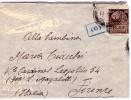 ITALIA Storia Postale  Colonie  Rodi   Cent. 50  P. Militare 550   Del  7 - 5 - 1941  X  Firenze - Italia