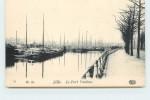 LILLE - Le Port Vauban. - Hausboote