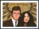 Music, John Lennon, Beatles, Yoko Ono, IMAGINE, St. Vincent Gr. 1995 MNH SS, - Music