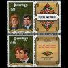 PENRHYN 1986 - Scott# 343-4 R.Wedding-Andrew Set Of 2 MNH - Penrhyn