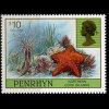 PENRHYN 1998 - Scott# 435A Seastars $10 MNH - Penrhyn