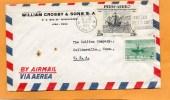 Peru 1956 Cover Mailed To USA - Peru