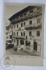 Old Real Photo Postcard Hotel Post - St. Wolfgangsee - Salzkammergut, Austria - Old Classic Cars - Autres