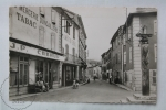 Old Real Photo Postcard France - Ariege, Oust - Rue Principale - Animated - Animé - Oust