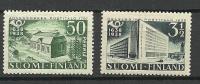 FINLAND FINNLAND 1938 Michel 213 & 216 * - Unused Stamps
