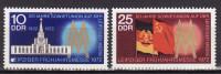 DDR 1972. Mi 1743/44, MNH(**) - Nuevos