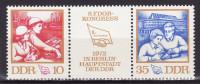 DDR 1972. Mi 1761/62, MNH(**) - Nuevos