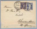 Heimat Rasieklingen Stempel Basel #2.04 1926-10-09 Razor A.Streifband 5Rp.+5Rp.Zusatzfrank. - Entiers Postaux