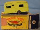 MATCHBOX  SERIES   A MOKO  LESNEY PRODUCT N° 23   Caravan - Collectors & Unusuals - All Brands