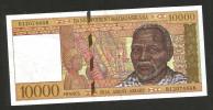 MADAGASCAR - NATIONAL BANK - 10000 Francs ( 1995 ) - Madagascar