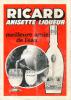 Ancienne Publicité (1976) : RICARD Anisette Liqueur, Meilleure Amie De L'eau - Reclame
