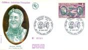 LETTRE PREMIER JOUR - FDC - AVIATION AVIATRICE MARYSE HILSZ - 10 JUIN 1972 A LEVALLOIS - CÔTE : 11 EUROS - 1970-1979