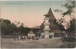 CPA INDONESIE INDONESIA Misdjid Banoekampoe Tinted Timbre Stamp 1911 - Indonésie