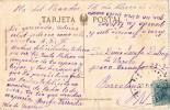 15682. Postal PLA Del PANADES (Barcelona) 1928. Fechador Azul - 1889-1931 Reino: Alfonso XIII