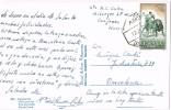 15684. Postal CANFRANC (Huesca) 1960. AMBULANTE Zaragoza Canfranc - 1931-Hoy: 2ª República - ... Juan Carlos I