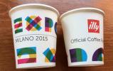 """EXPO UNIVERSELLE MILAN 2015. NOURRIR LA PLANÊTE, Gobelet Non Utilisé De """"illy: El Café Espresso"""" , De L'EXPO à MILAN - Tasses"""