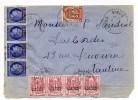 1948 - CARTE LETTRE De SIGUS (CONSTANTINE / ALGERIE) Avec CHAINE BRISEE + MAZELIN SURCHARGES - Covers & Documents