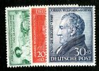 13437 - Germany 1949  Michel # 108-10*  ( Cat. 12.€ ) - American/British Zone