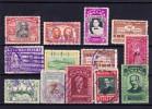 PANAMA - 1952/1956 - LOT V. 13 Waarden/ 13 Valeurs - Used ° - Panama