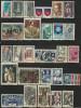 FRANCE 1966-67 YVERT 1502...1541  USED  CAT VALUE 14.00 EUR - Frankreich