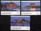 Denmark 2008   Minr.1486-88  MNH (**) National Theater  ( Lot  B 963 ) - Nuevos