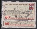 D 779) Berlin 659 O: Doppeldruck Der Roten Inschriften (750 Jahre Spandau) - Berlin (West)