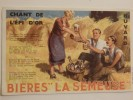 """Buvard """"Brasserie La Semeuse"""". - Licores & Cervezas"""
