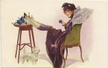 Illustrateur L Vallet - Le Café  N° 2726 - Vallet, L.