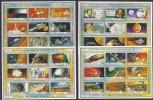 ESPACIO - SIERRA LEONA 1989 - Yvert#1101/1136**  Precio Cat€180 - Espacio