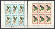 PAJAROS  -NUEVA ZELANDA 1962 - Yvert#H11/12** (pequeñas Manchitas De Oxido)  Precio Cat€70 - Cuckoos & Turacos