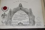 Diplôme Maçonnique De 1965, 31° Grade, Pérou/Lima - Godsdienst & Esoterisme