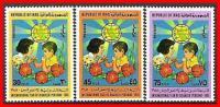 IRAQ 1981 INTERNATIONAL YEAR OF CHILD SC#1029-31 MNH (E-B2) - Iraq