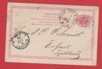 Suède   // Entier Postal  //  Pour Erfurt   // 05/12/1889 - Entiers Postaux